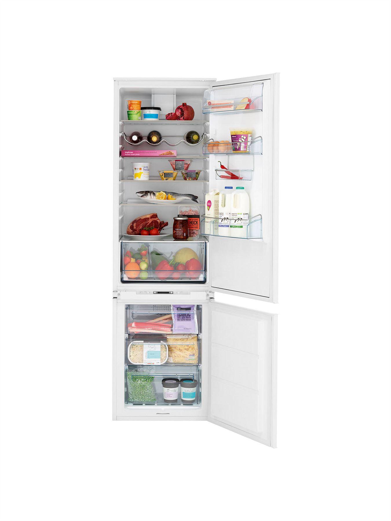 0b03b5c62b54 John Lewis JLBIFF1812 Integrated Fridge Freezer, A+ Energy Rating, 54cm,  White