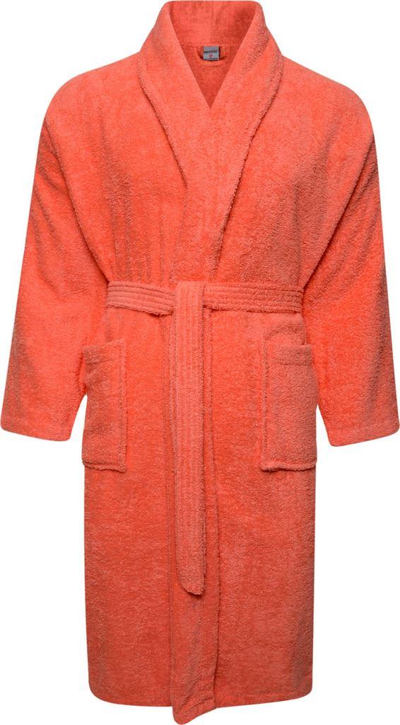 Mens & Womens 100% Cotton Terry Towelling Shawl Collar Bathrobe ...