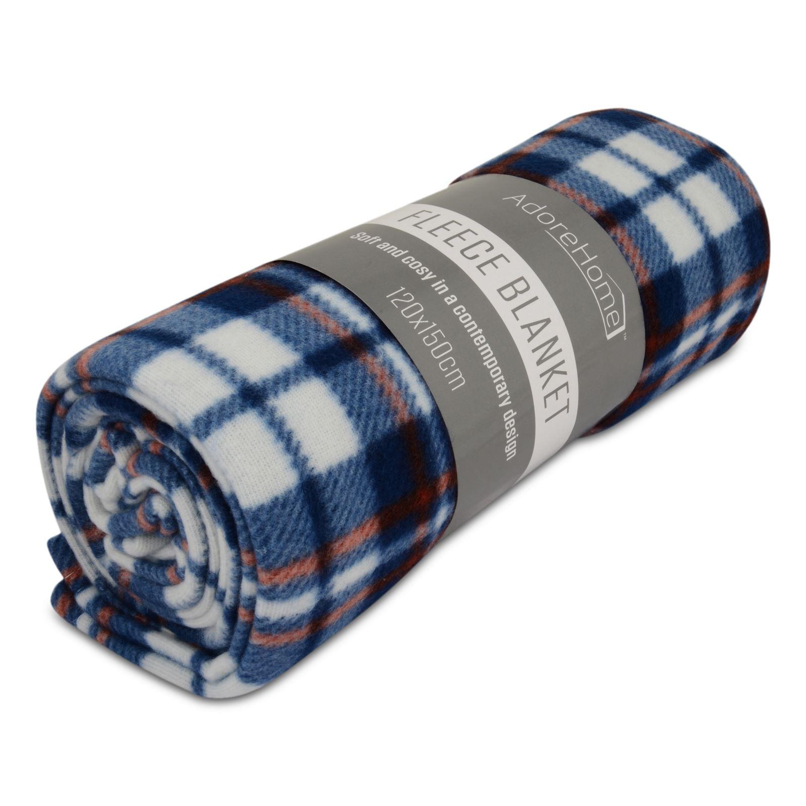 Spartan Fleece Saddle Cover Animal Print: Soft & Warm Printed Fleece Blankets For Sofa Bed Travel