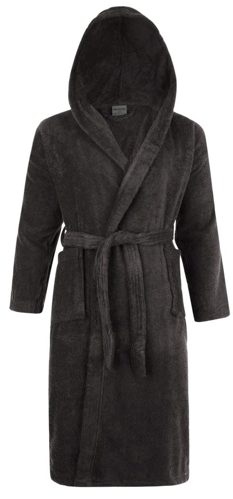 mens ladies 100 cotton hooded bathrobe towelling bath robe dressing gown ebay. Black Bedroom Furniture Sets. Home Design Ideas