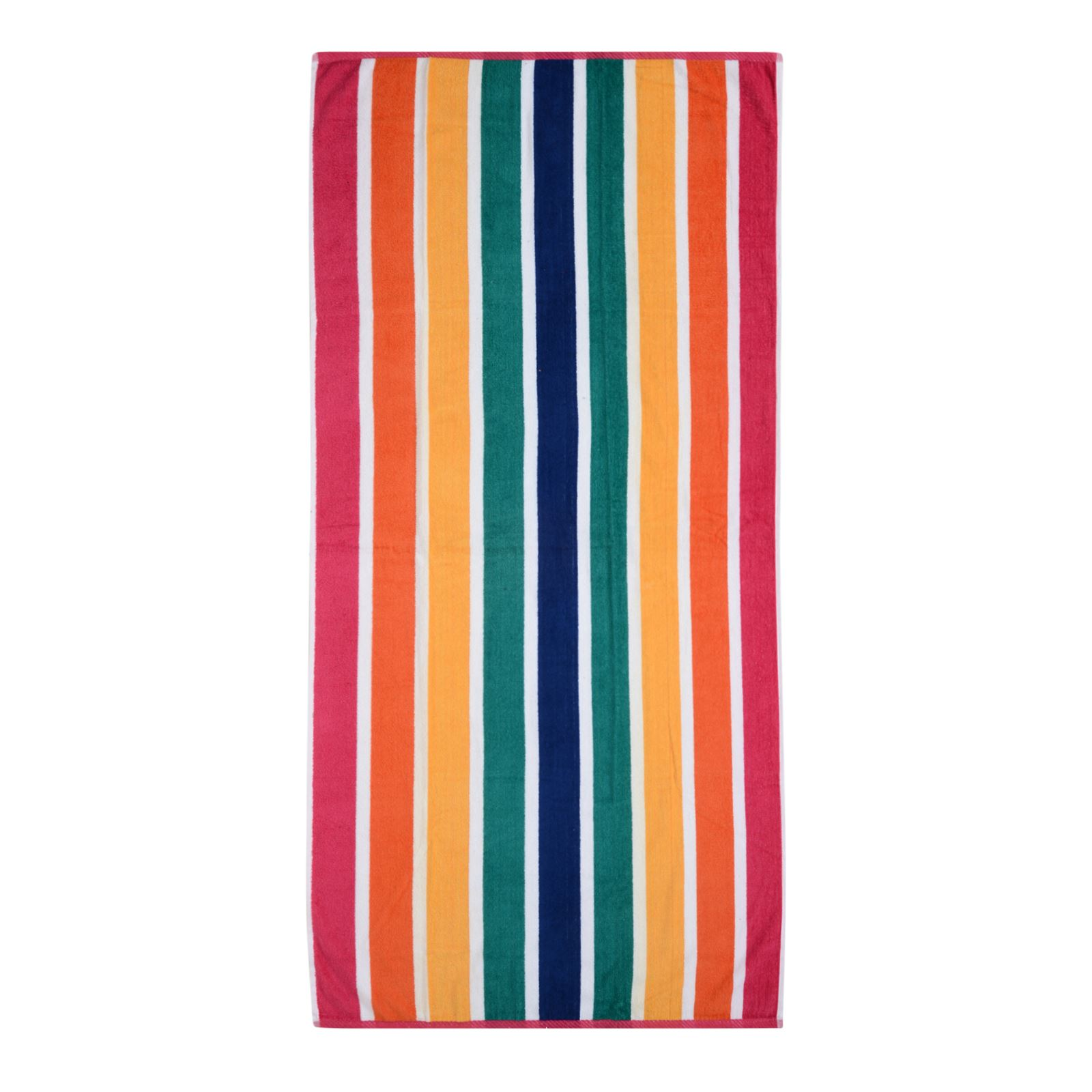 Gym Towel Online India: Large Velour Beach Bath Towels Cotton Striped Towels
