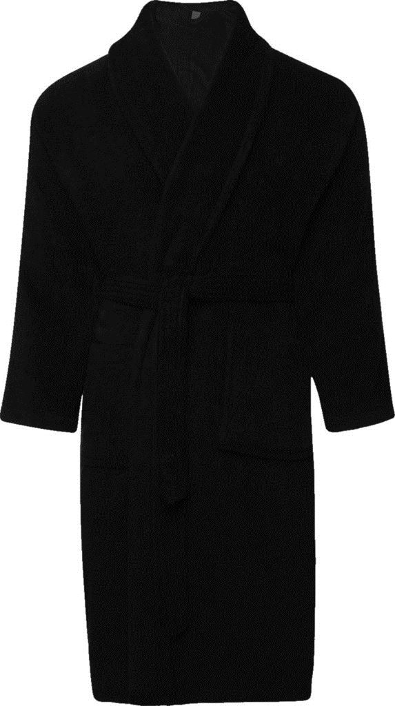 Mens   Womens 100 Cotton Terry Towelling Shawl Collar Bath Robe Dressing Gown  Small Black. About this product. Picture 1 of 5  Picture 2 of 5  Picture 3  of ... cdec63f0d