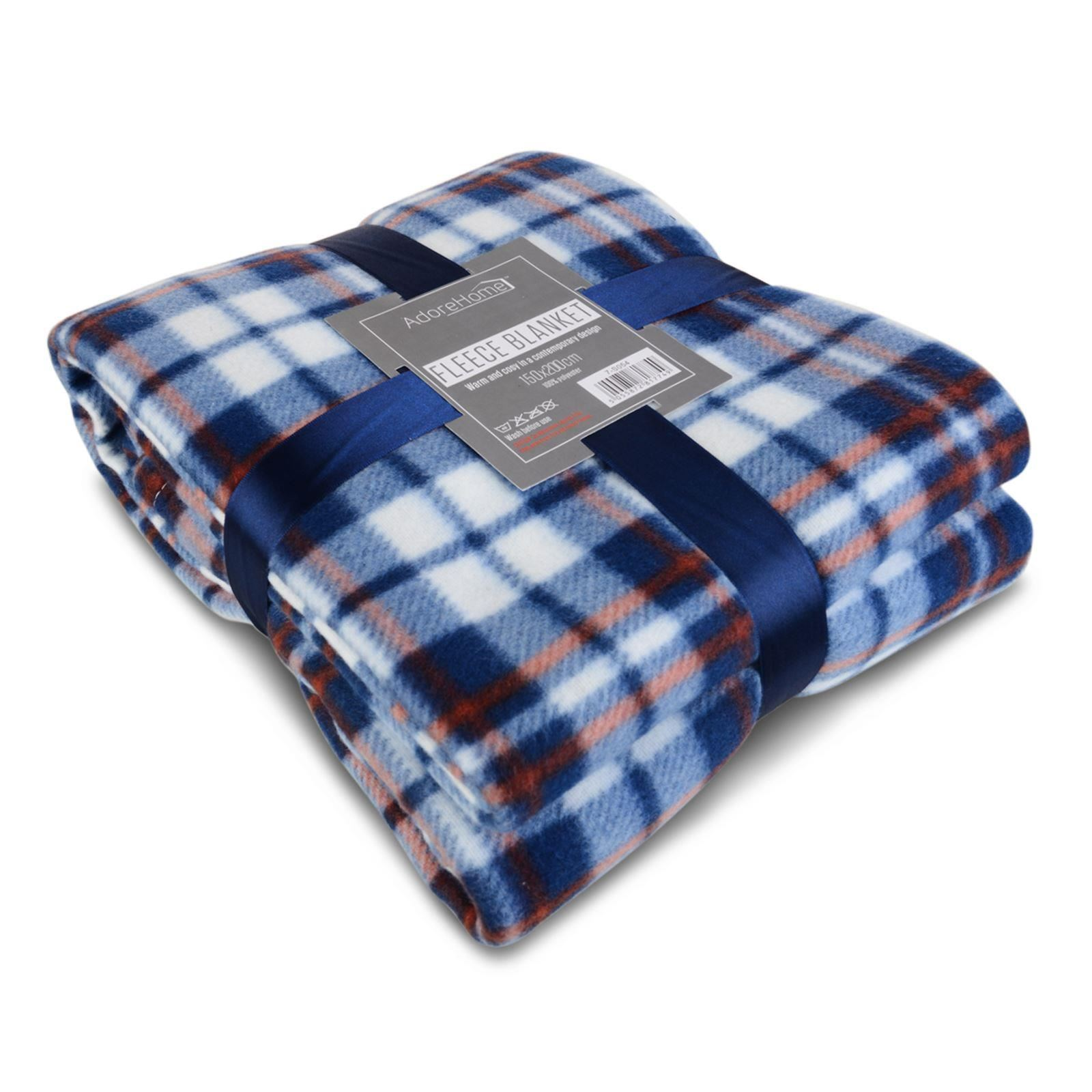 Soft Amp Warm Single Printed Fleece Blankets For Sofa Bed
