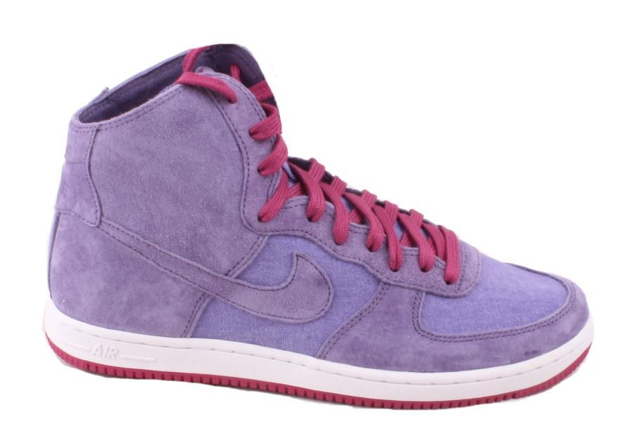nike 1 air force 1 nike femmes decons - rose - violet et top baskets aa55d4