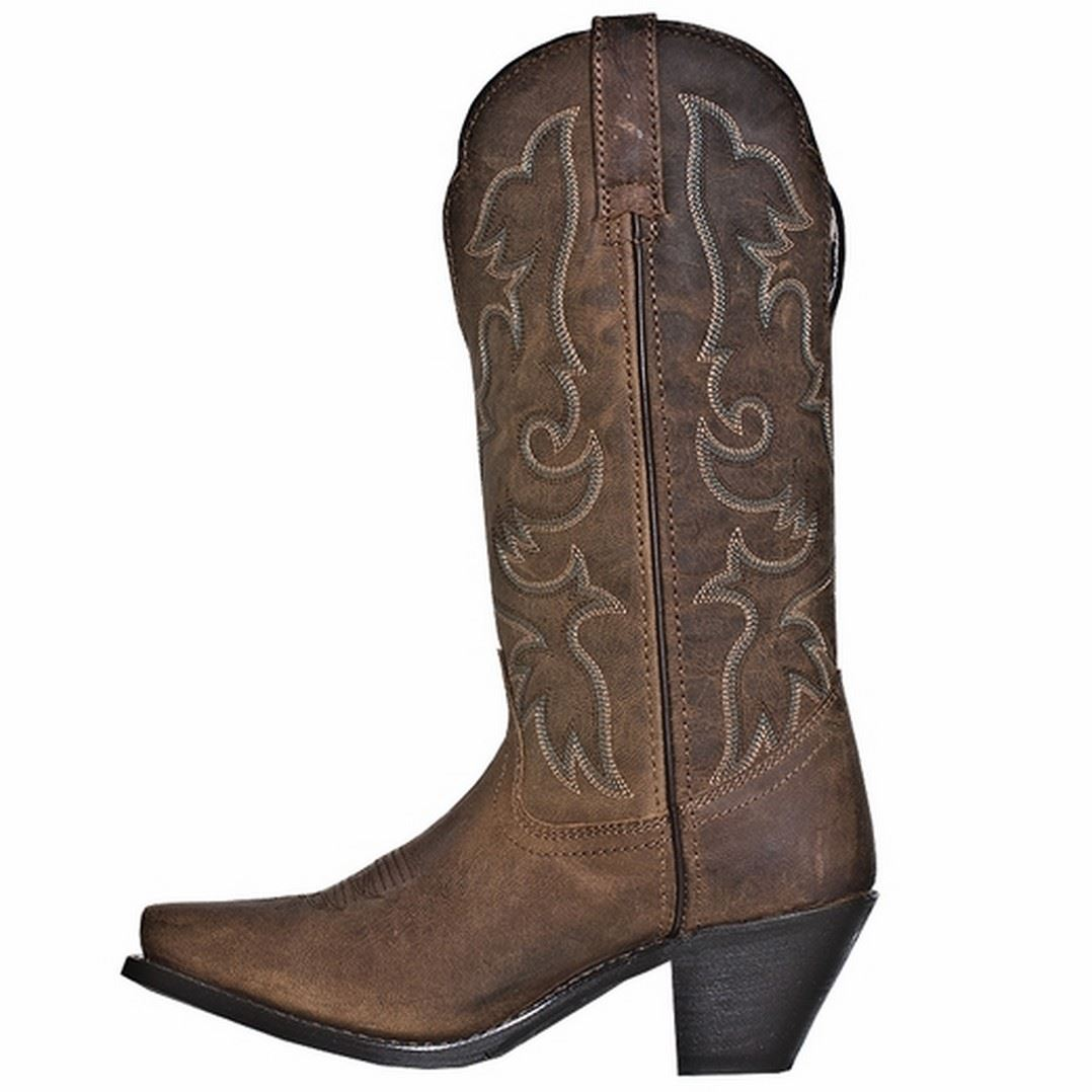 laredo access womens leather wide calf western boots 51078