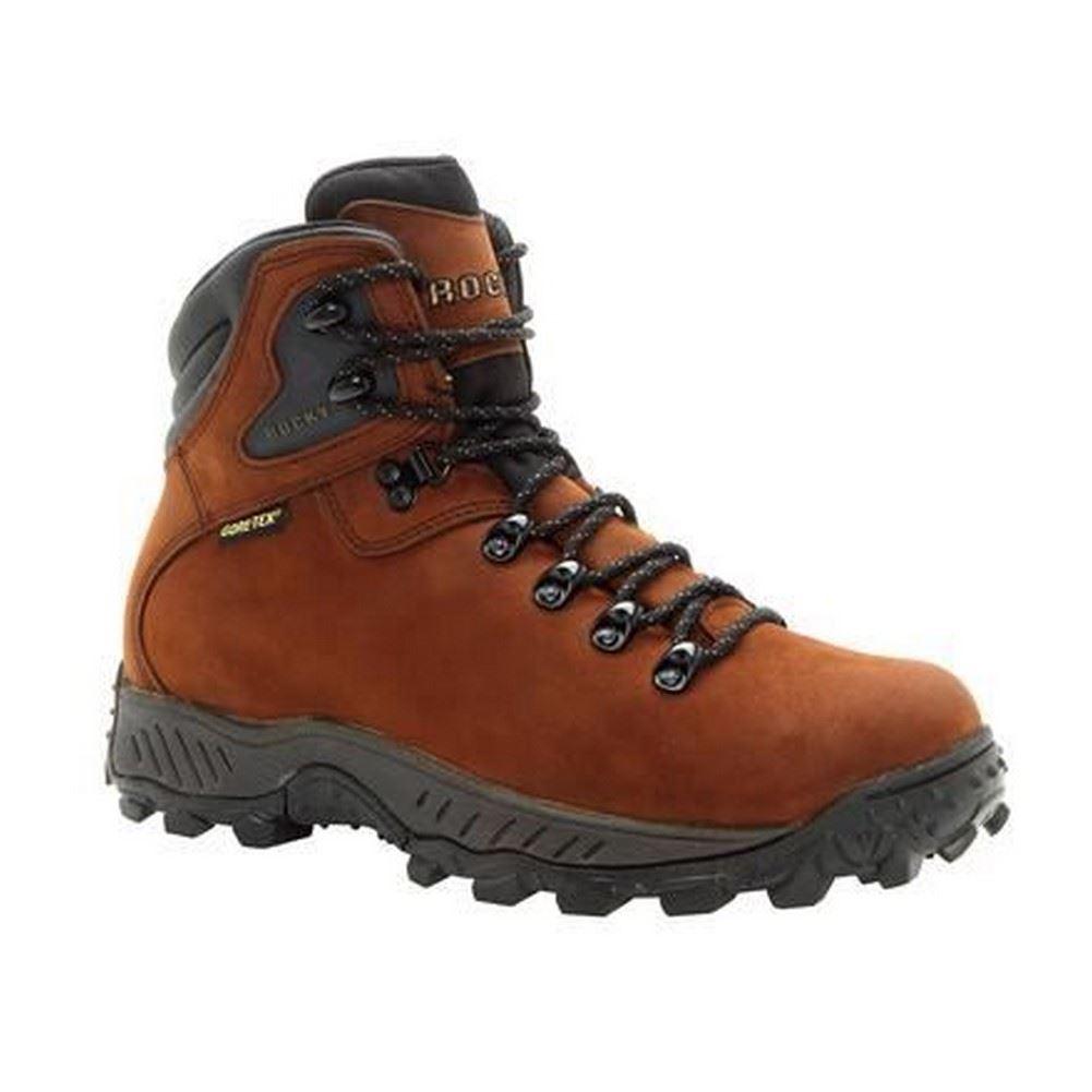587460ca84b ROCKY Mens Waterproof Ridgetop Gore-tex Dark Brown Hiker BOOTS Fq0005212 12  Wide