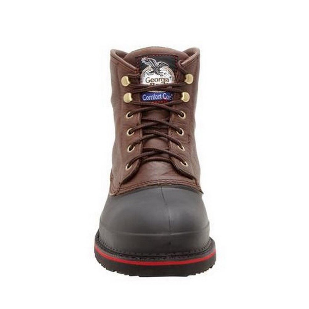 Georgia Hombre Dark Chocolate Muddog Marrón Muddog Chocolate Waterproof Steel Toe Work Botas G6633 7c265f
