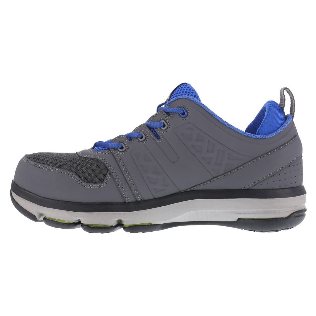 4adee69315c6 2. Reebok Work RB3604 DMX Flex Mens Grey Blue SD SR Alloy Toe Athletic ...