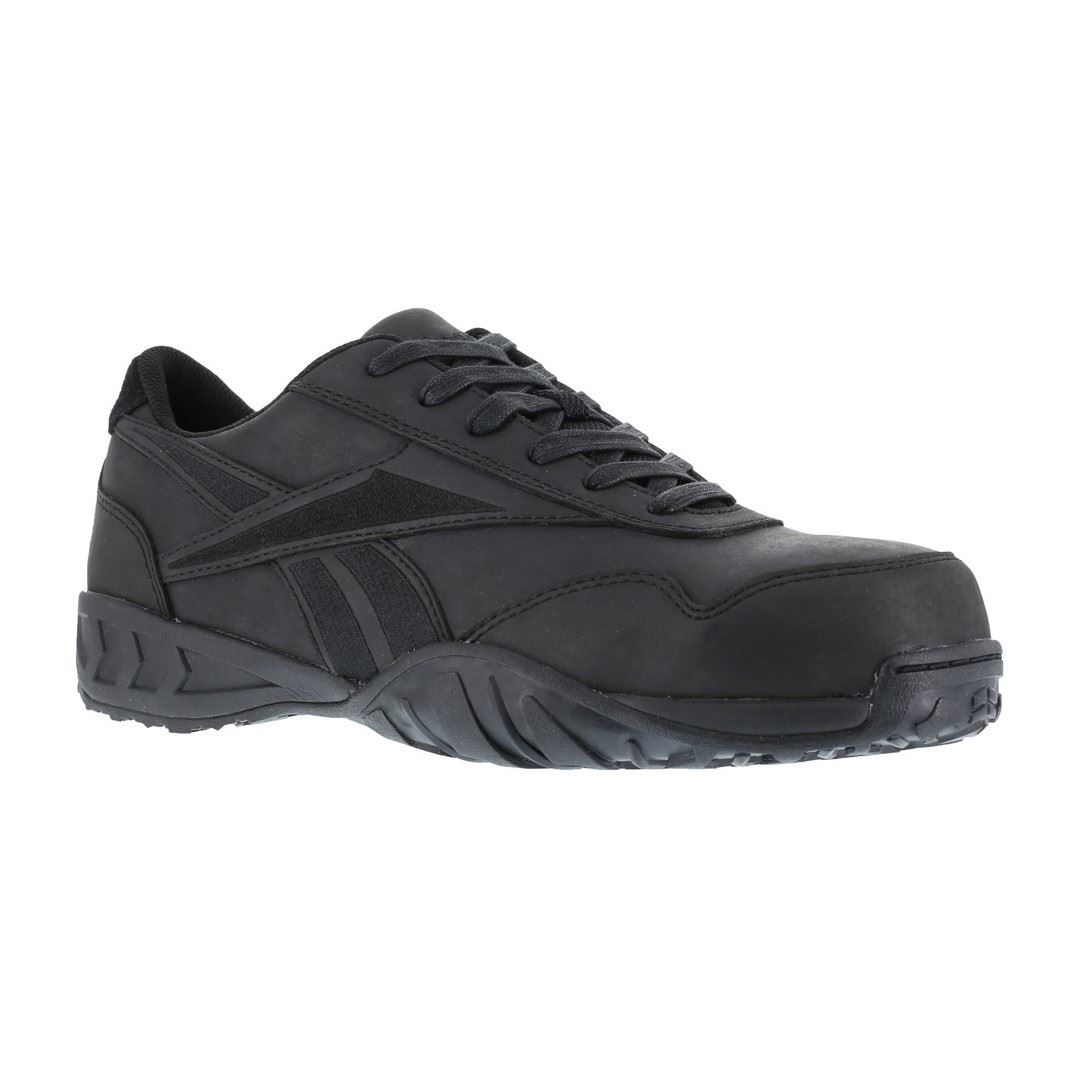 New Reebok RB1945 Mens Black Bema Work Shoes
