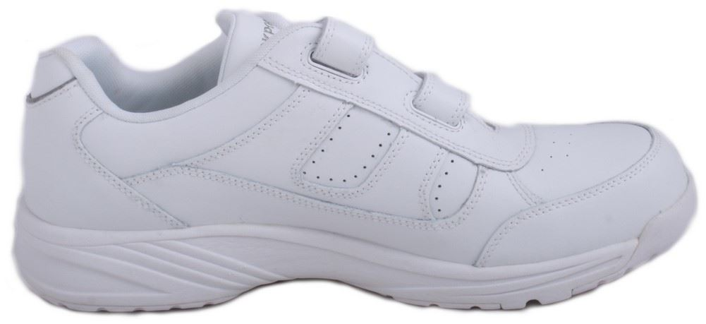 Mens White Rockport   Wide Walking Shoes