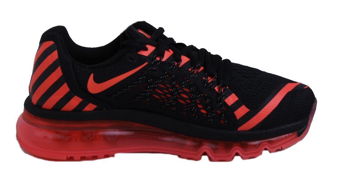best website 7c7c9 0b96d Image is loading Nike-Air-Max-2015-NR-Womens-Black-Hot-