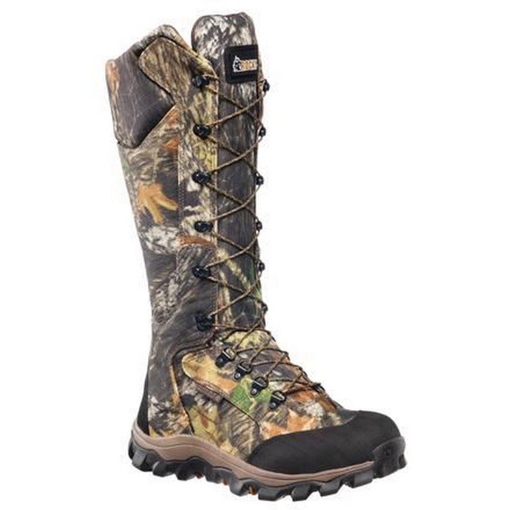 Rocky Lynx Mens Mossy Oak Break Up Side Zip Waterproof