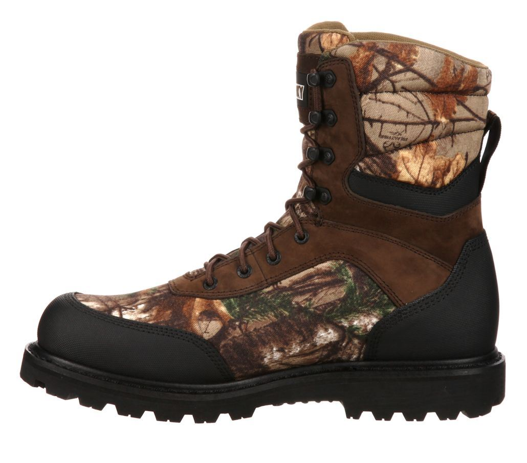 rocky brute mens realtree xtra insulated boot
