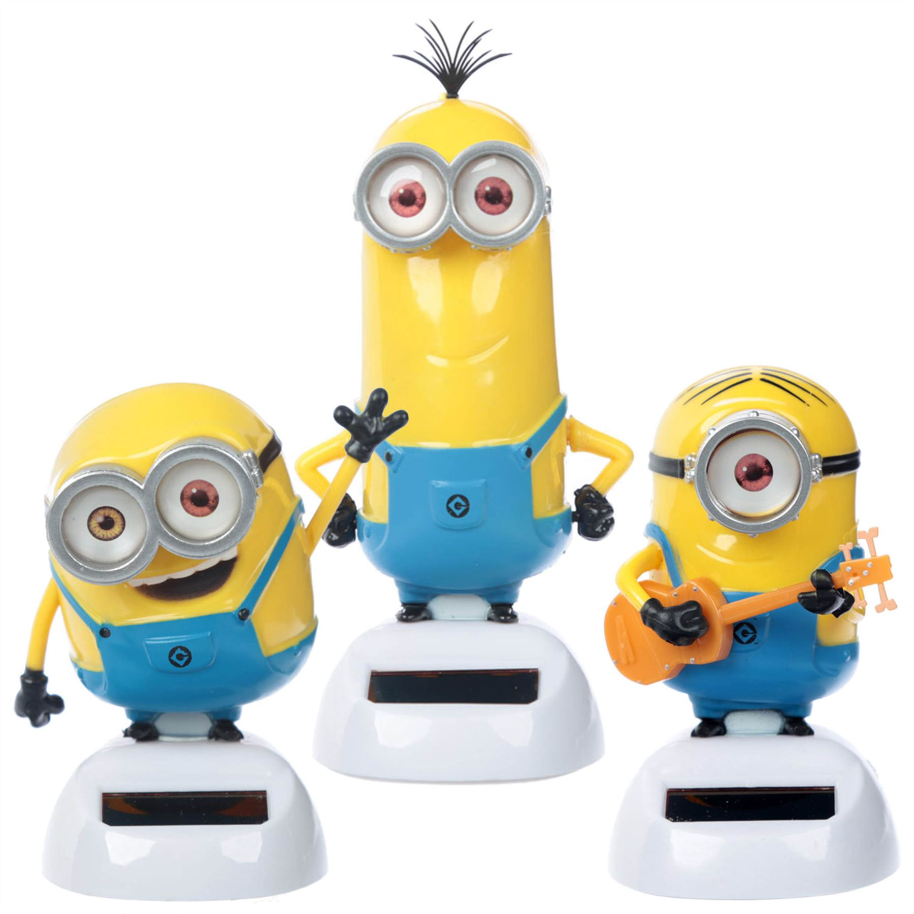 Charming Minions Bob Kevin Or Stuart Solar Pal Powered Dancing Despicable Me Licensed