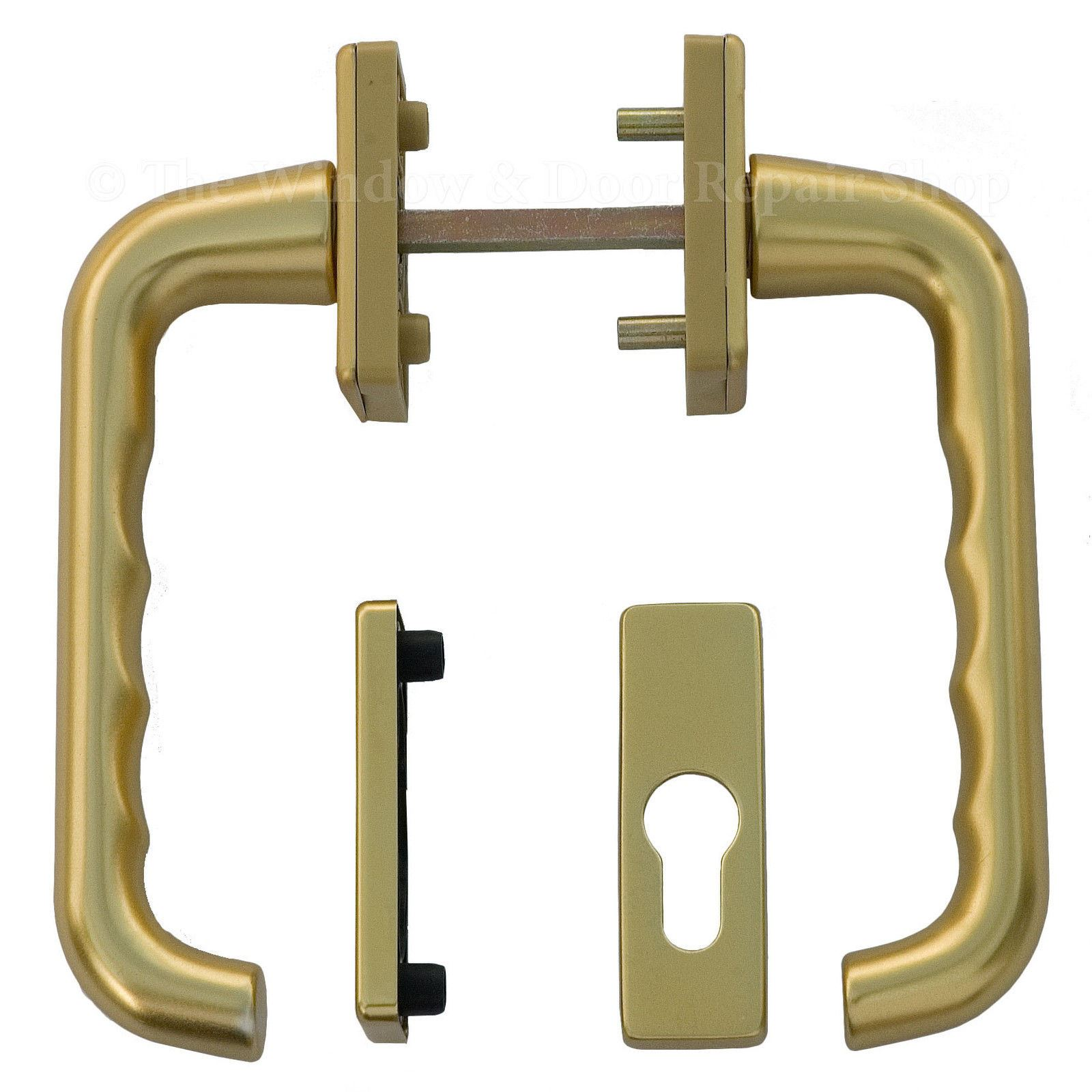 Window Tilt Latch Slide L307 : Tilt slide patio door handle set for upvc doors hoppe