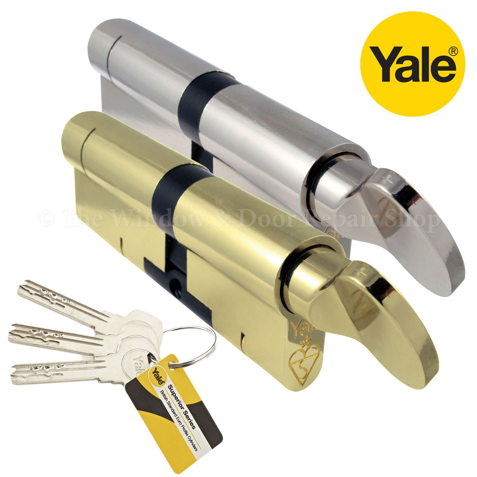 Yale Superior Thumb Turn Cylinder Lock Anti Snap Bump High
