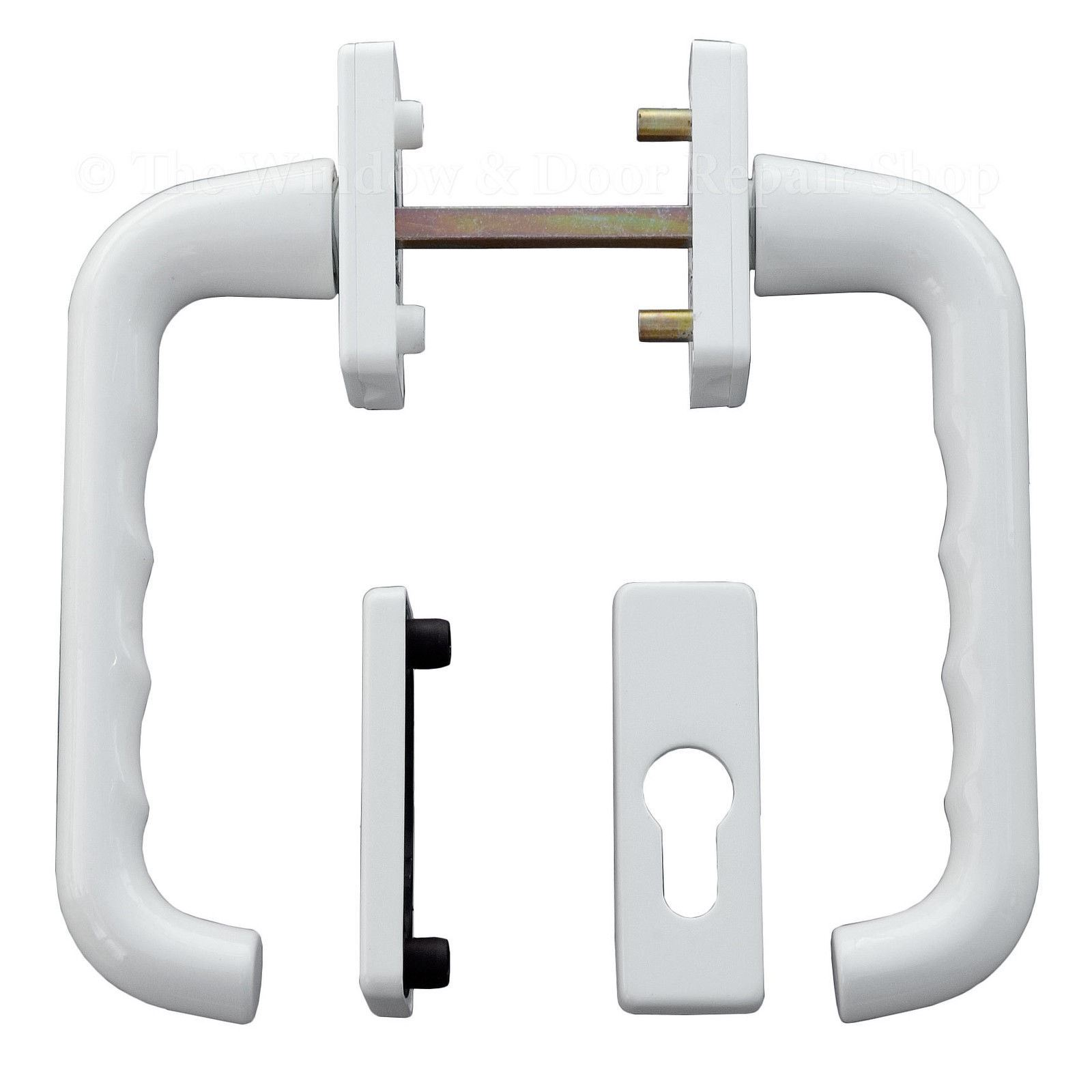 Tilt & Slide Patio Door Handle Set For UPVC Doors Hoppe Lever Pair