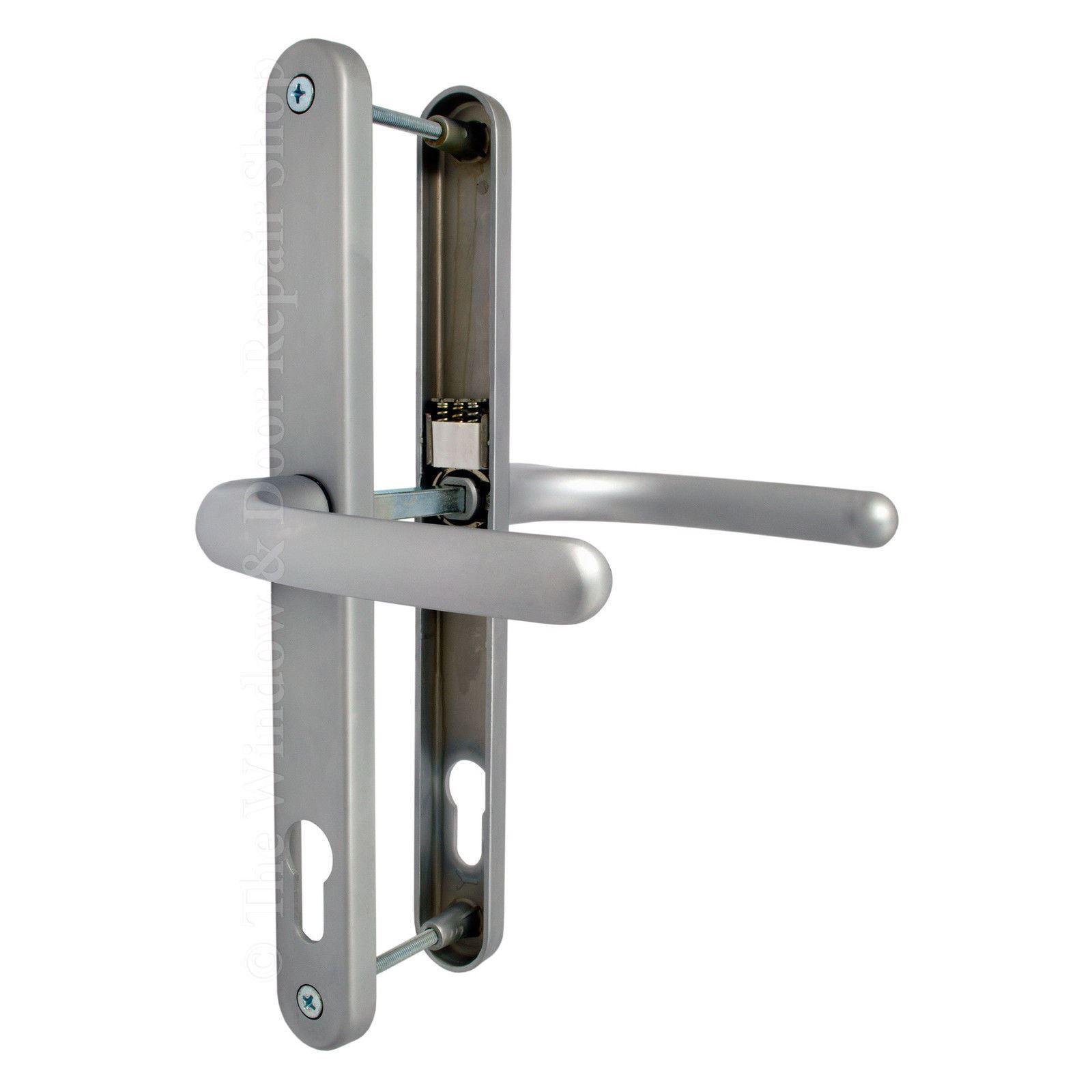 Upvc Door Handle Blenheim 92mm 92pz 240mm Fixings Double