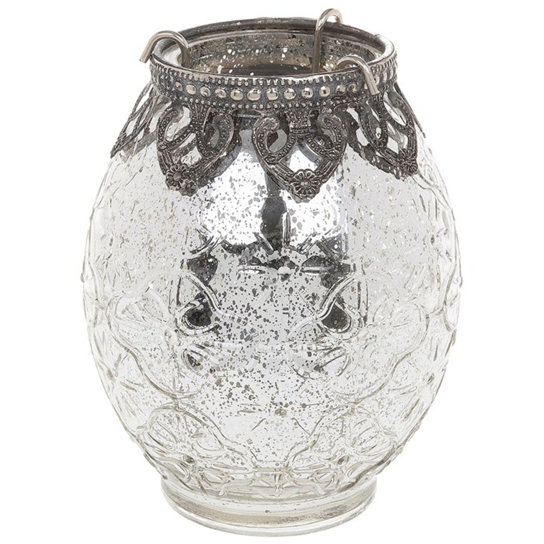 Vintage Lace Tea Light Holders & Lanterns Candle Votive ...