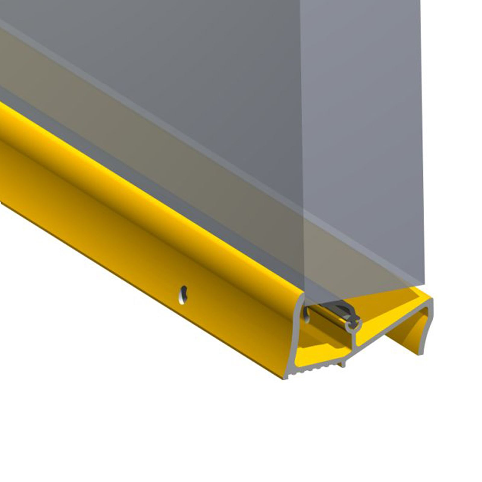 Lowline threshold sill stormguard rubber rain draught for Door excluder