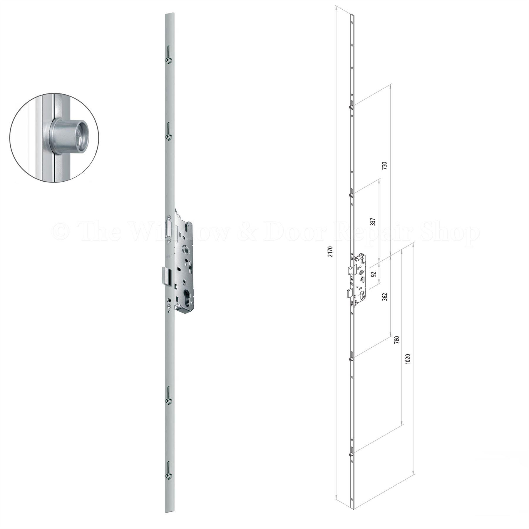 Fuhr 856 Multi Point Upvc Door Lock Replacement Mechanism
