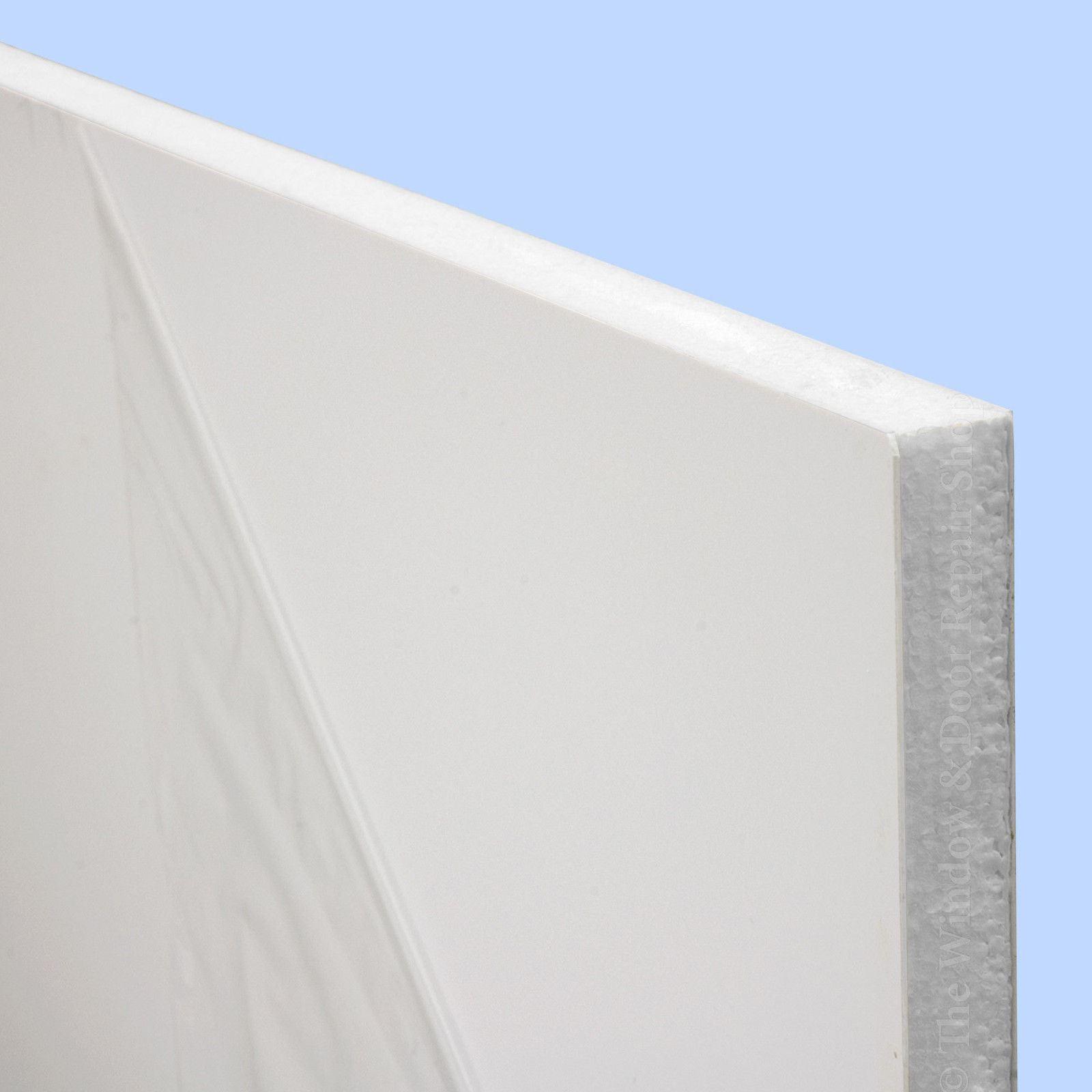 White Upvc Flat Door Panel 20mm 24mm 28mm Thick Plastic