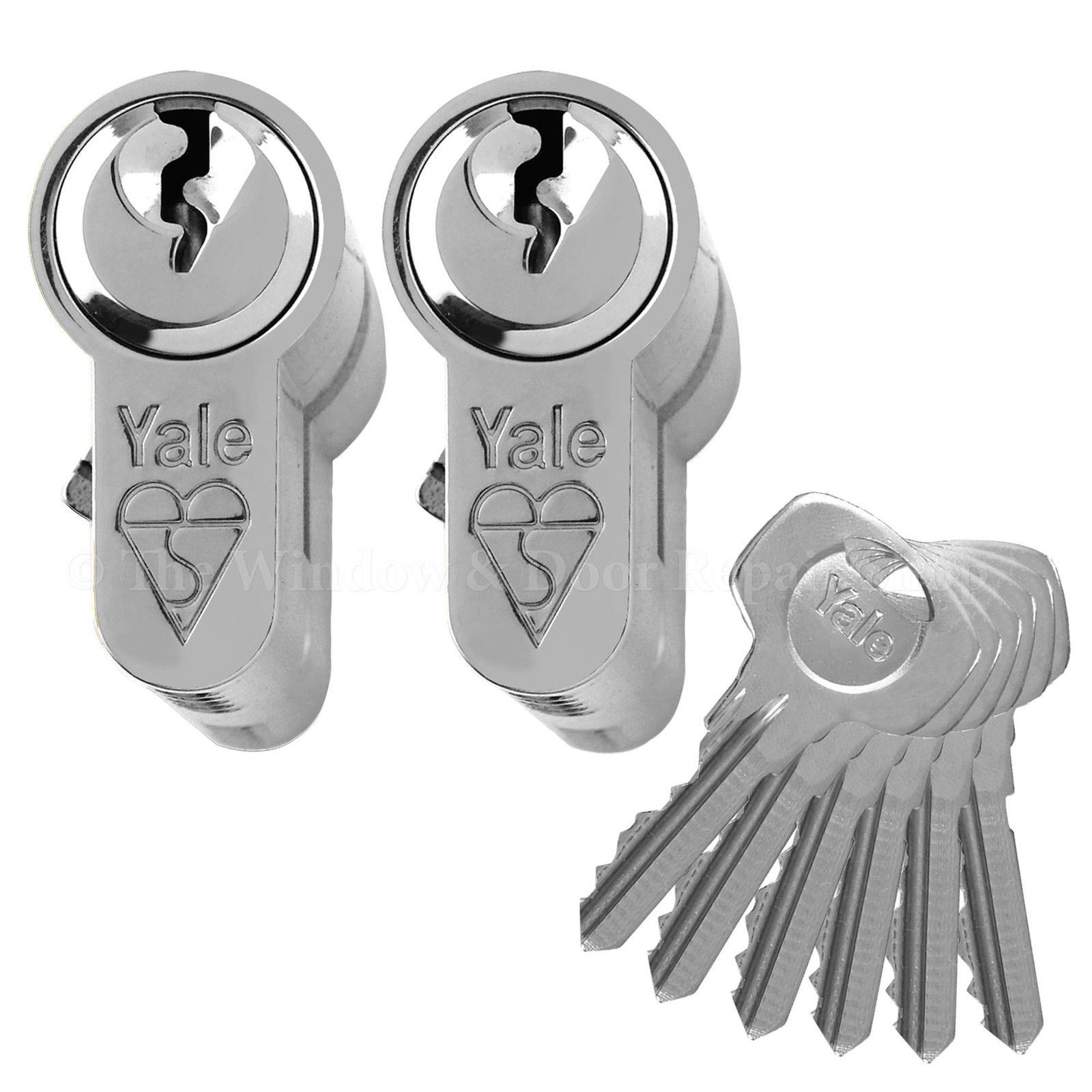 Yale Keyed Alike Anti Bump Euro Cylinder Upvc Door Lock