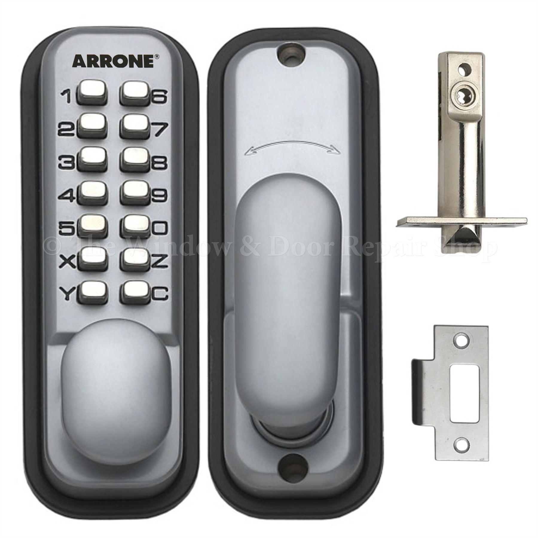 Hoppe Push Button Mechanical Digital Combination Code Door