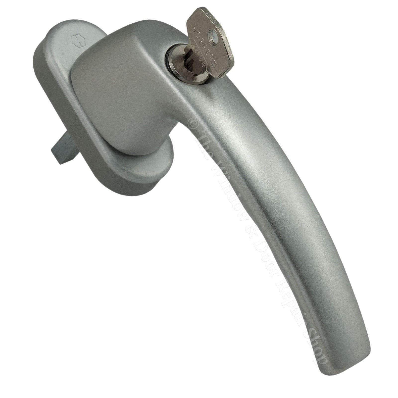 Handing Tilt Turn : Hoppe silver tilt and turn window handle t locking tbt