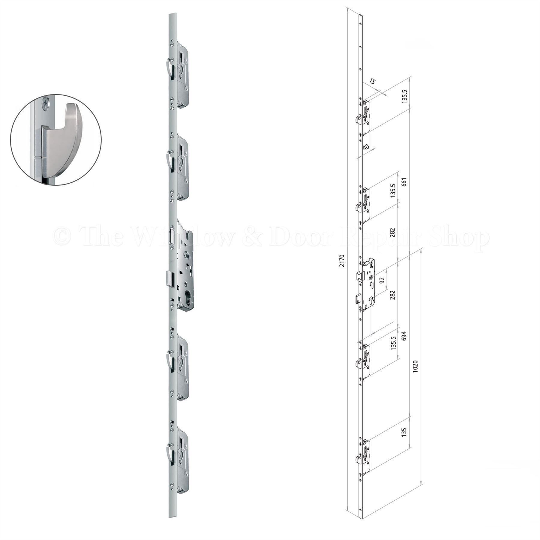 Inspiring double glazed door locking mechanism pictures for Upvc french door locking mechanism