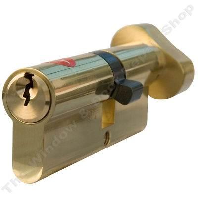 Thumb Turn Cylinder Euro Barrel Door Lock Upvc Anti Drill