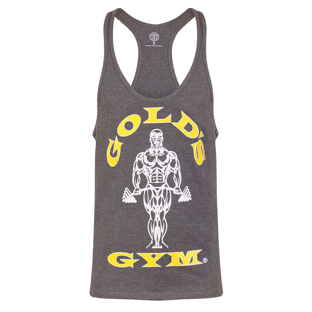 Golds-Gym-Mens-Muscle-Joe-Sleeveless-Workout-Training-Tank-Top-Stringer-Vest Indexbild 15