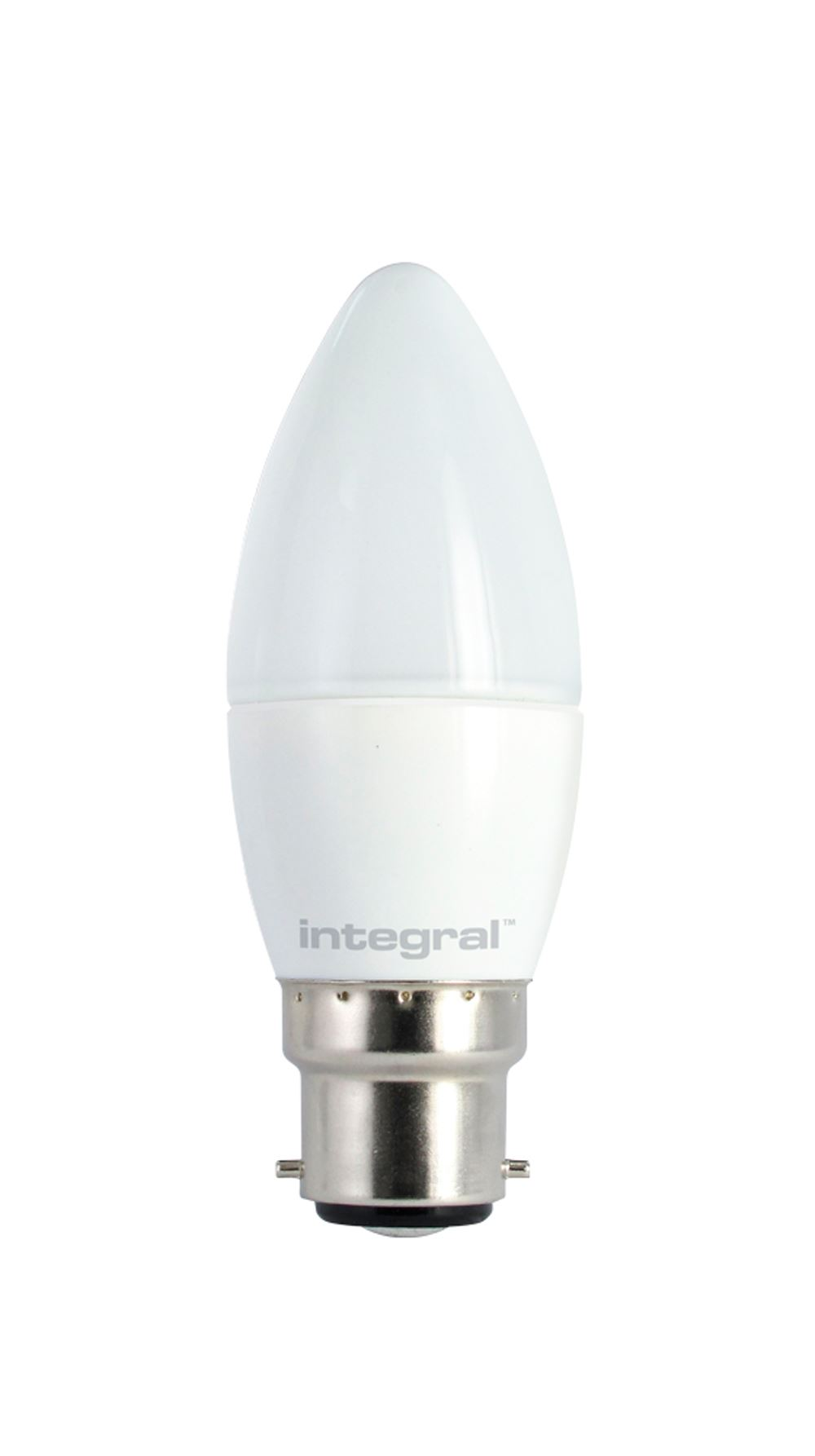 Daylight Led Bulbs: LED DIMMABLE Candle Bulbs Frosted Or Clear, Warm-White