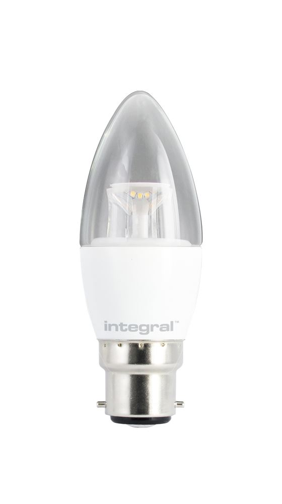 Led Daylight Bulb: LED DIMMABLE Candle Bulbs Frosted Or Clear, Warm-White