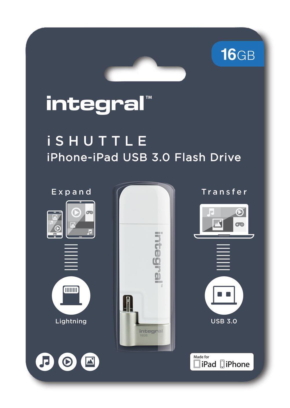 Unidad-USB-3-0-ishuttle-para-Apple-iPhone-e-iPad-y-PC-o-Mac-16GB-32GB-64GB-128GB