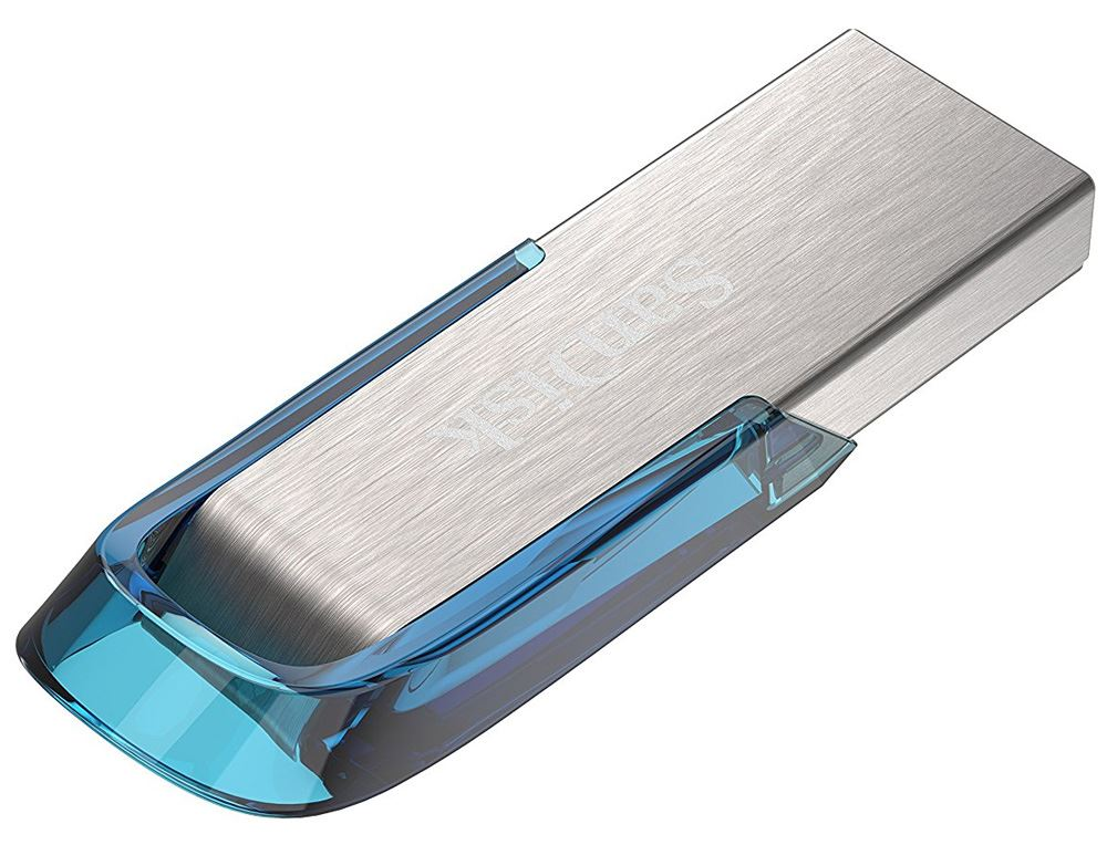 SanDisk-Stylish-Ultra-Flair-USB-3-0-Flash-Pen-Drive-16GB-32GB-64GB-Blue-or-Black