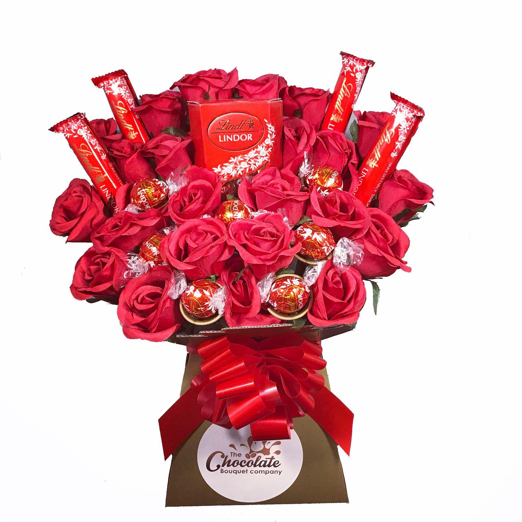 The Lindt Lindor Chocolate Bouquet Ebay