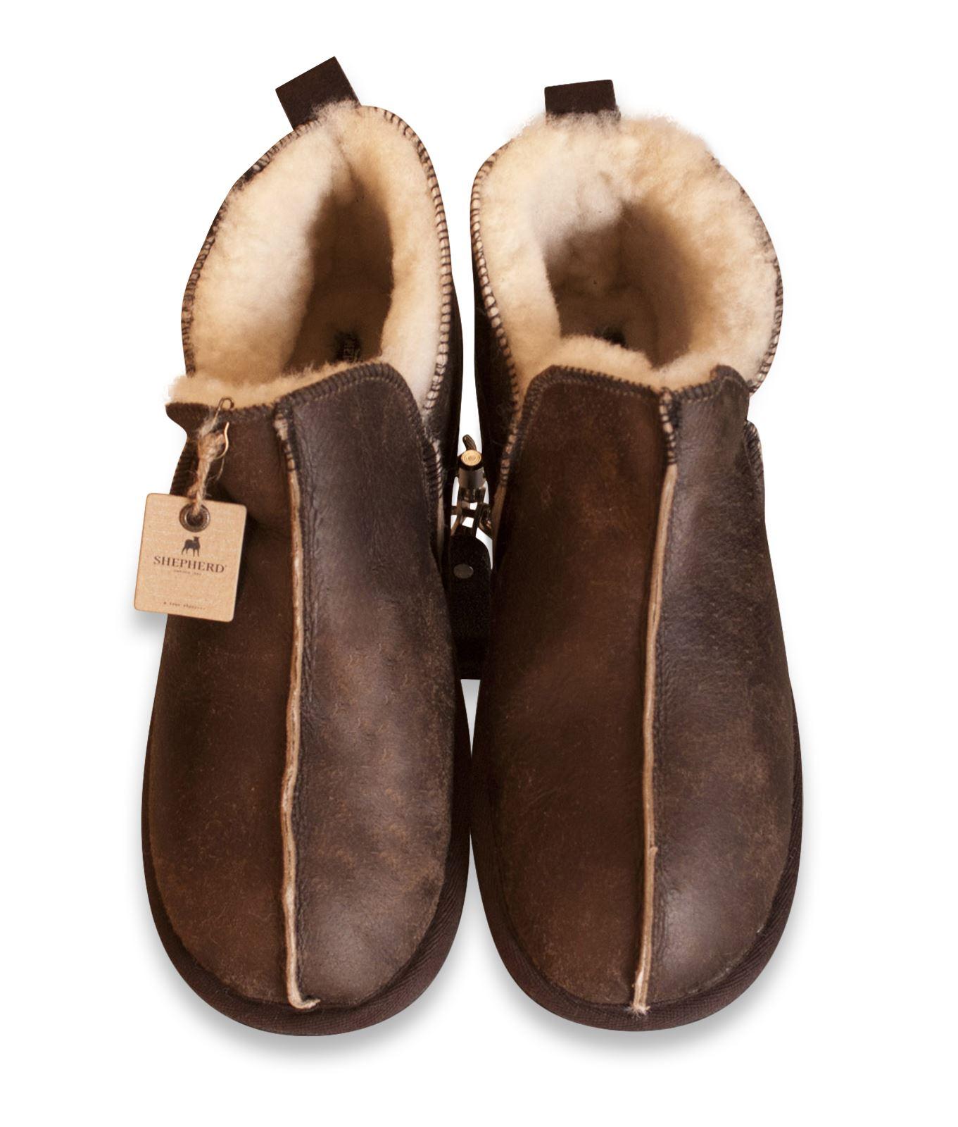 Mens Sheepskin Shoes