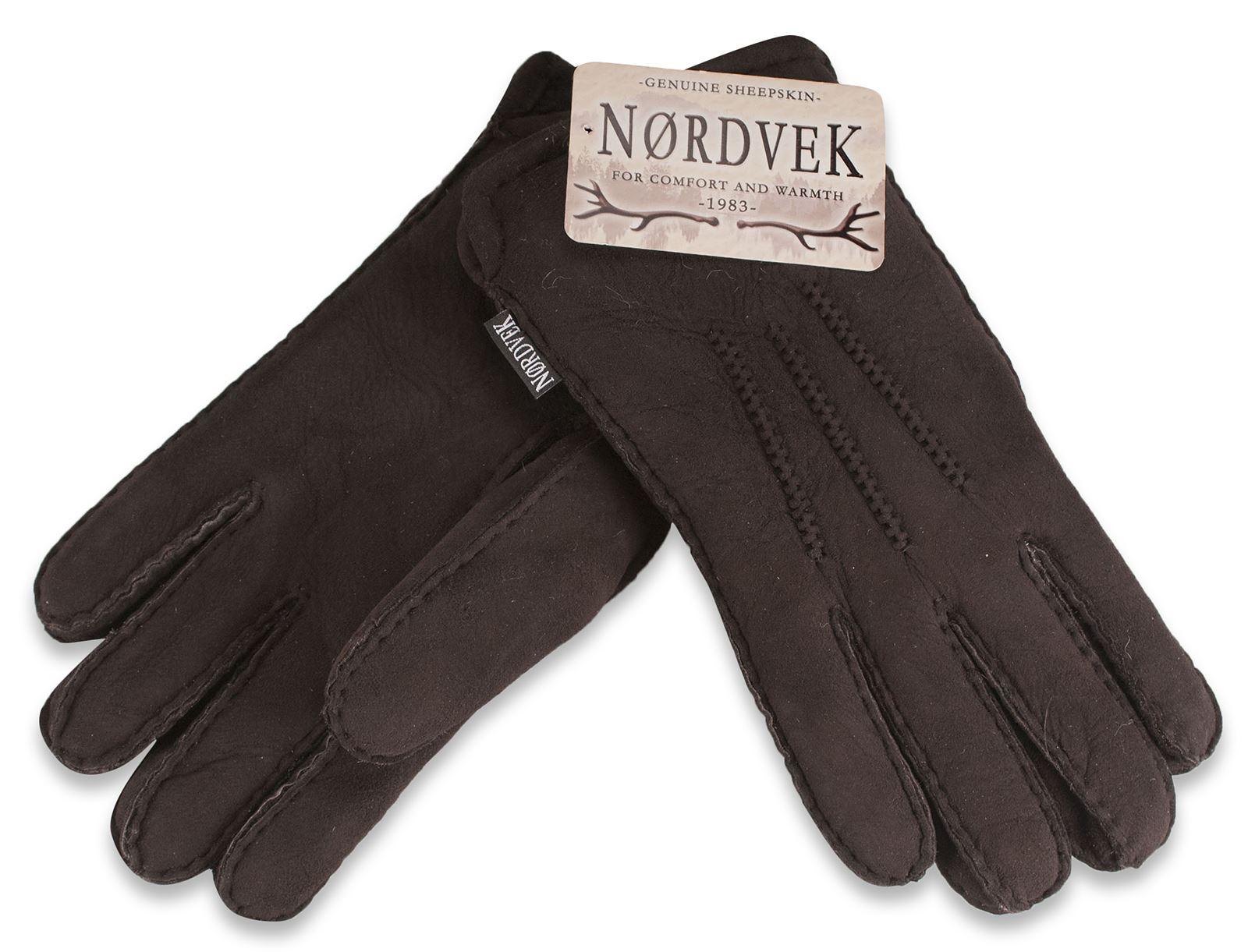 nordvek mens premium dick 100 echt lammfell handschuhe. Black Bedroom Furniture Sets. Home Design Ideas