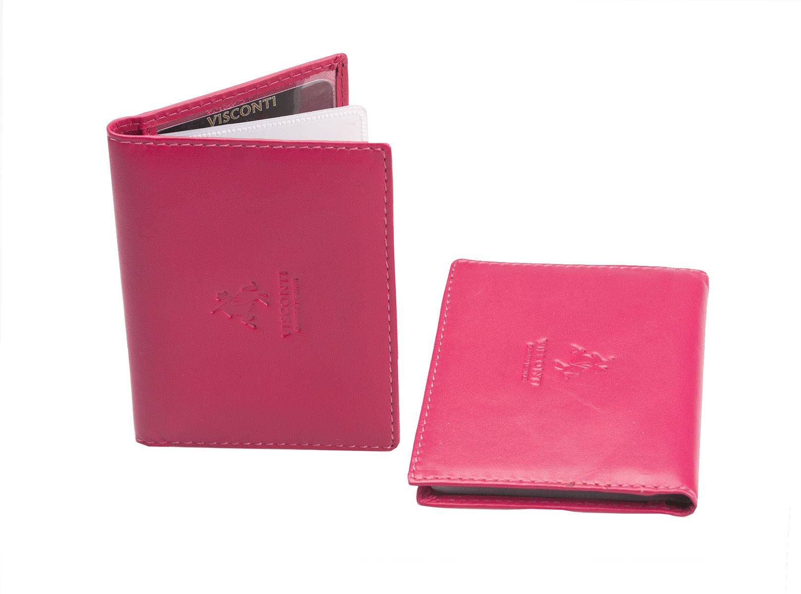 visconti genuine leather credit card holder business id oyster