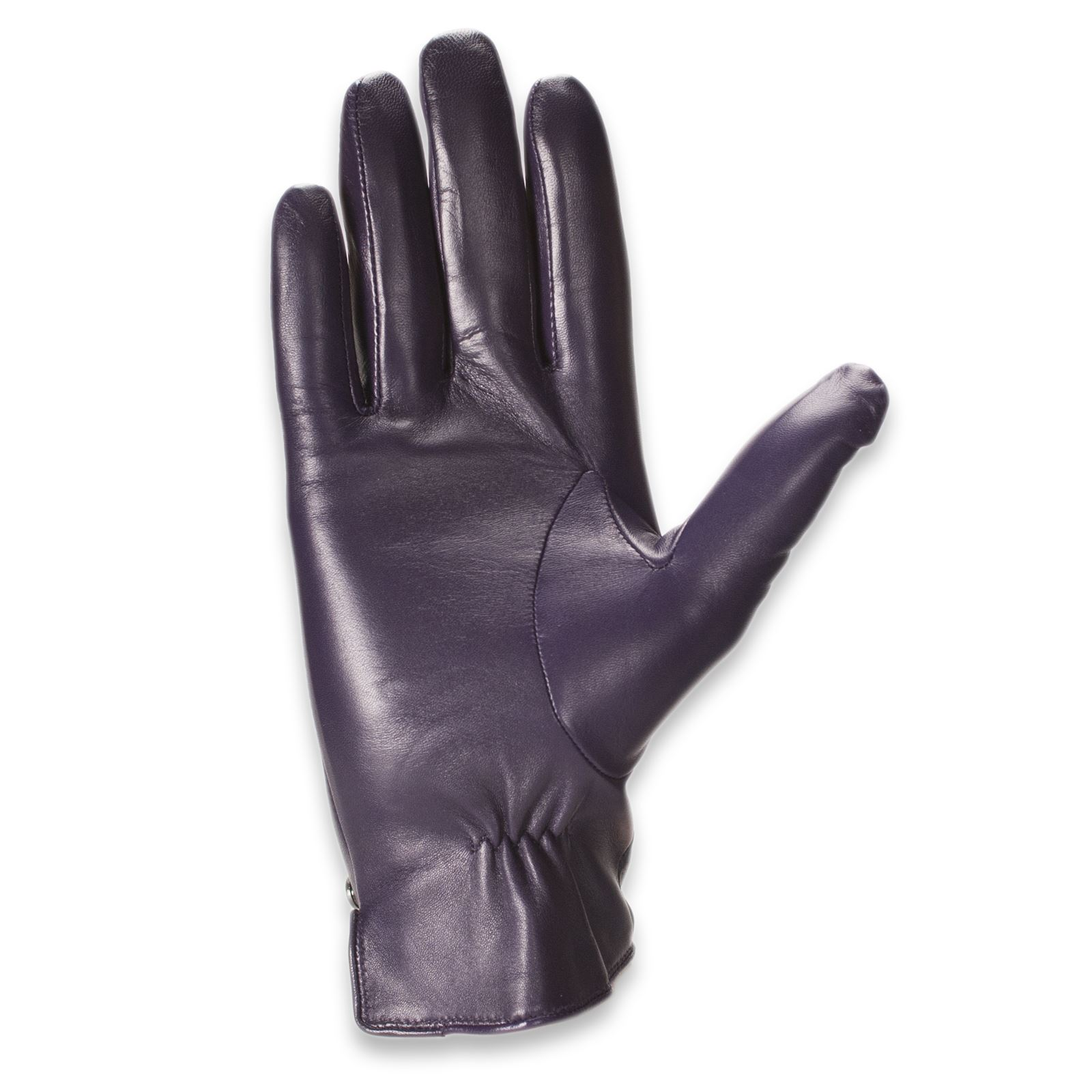 Womens leather gloves purple - Quivano Womens Leather Gloves Fleece Lined Ladies Genuine