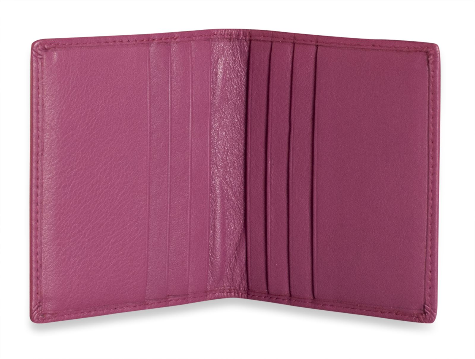 Brunhide Soft Real Leather Credit Card Holder Wallet Business ID