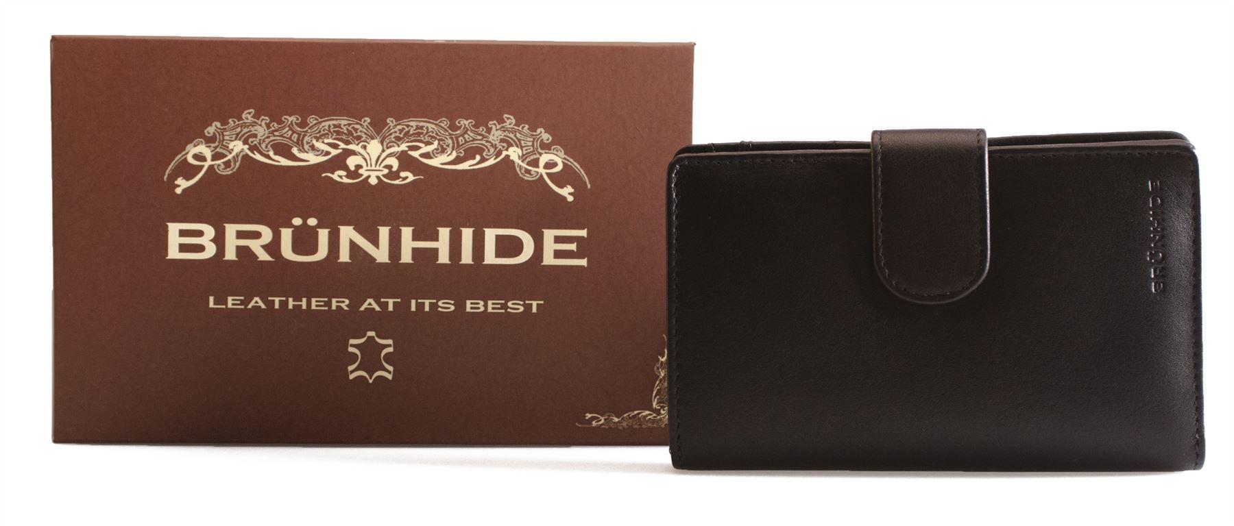 Brunhide-Large-Stivali-in-Pelle-Purse-Wallet-organizer-vera-da-donna-207-300
