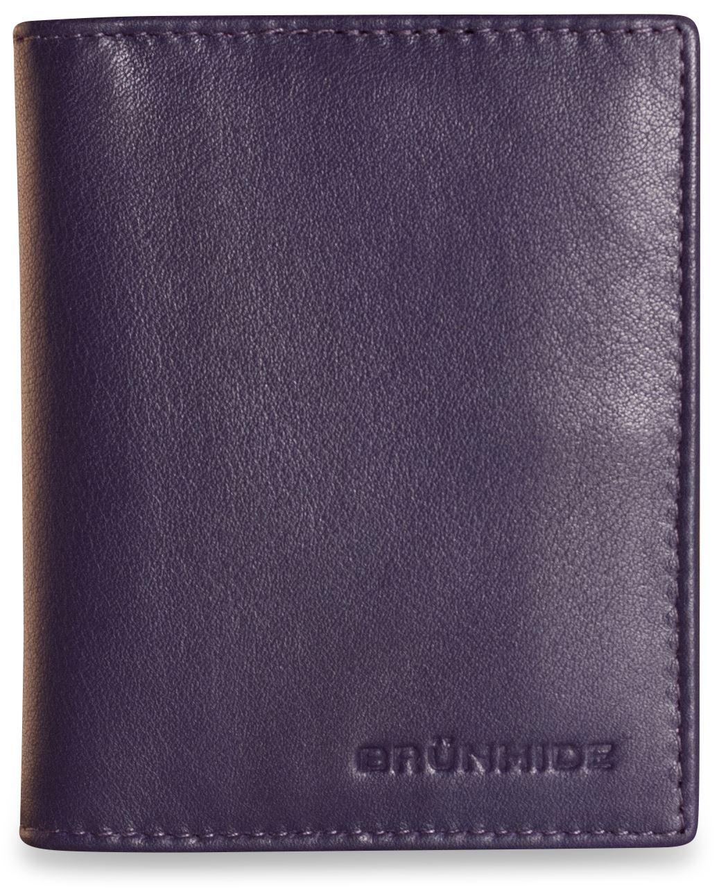 Brunhide Soft Real Leather Credit Card Holder Wallet