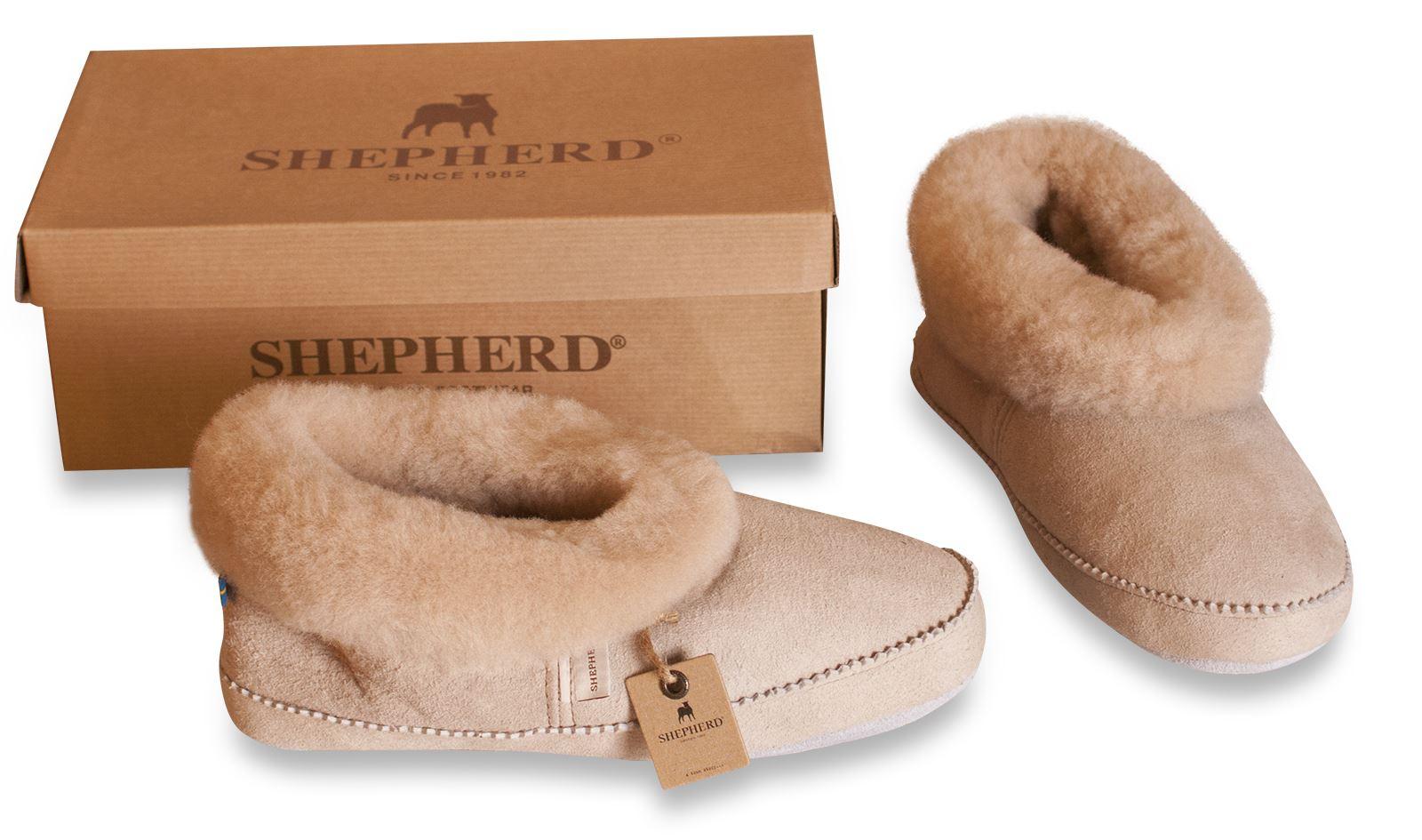 shepherd femme 100 peau de mouton chaussons chaussures semelle doux emmy 924 ebay. Black Bedroom Furniture Sets. Home Design Ideas