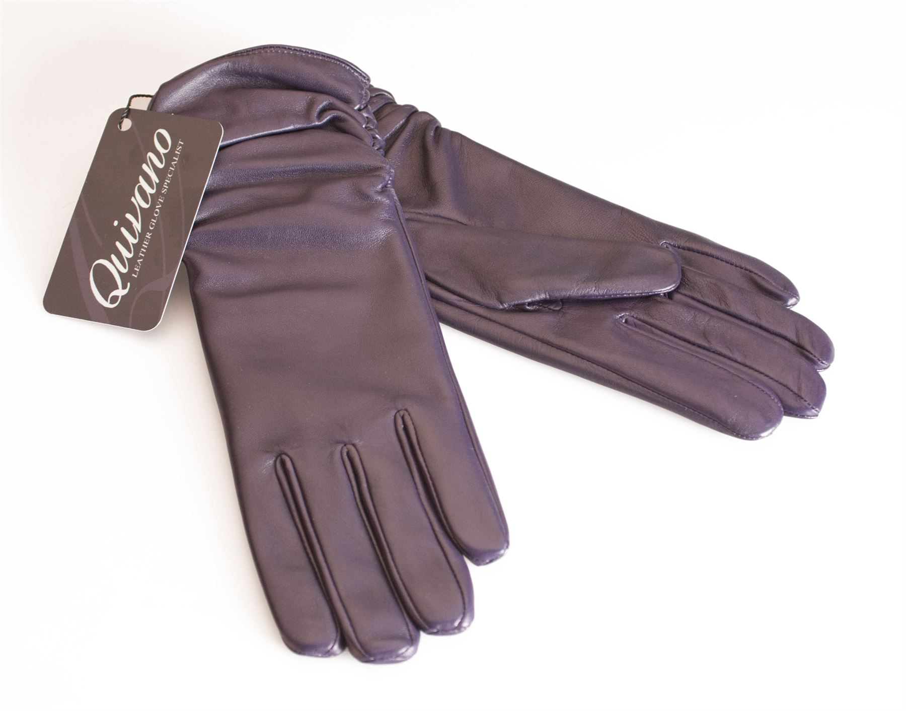 Ladies real leather gloves - Quivano Womens Genuine Leather Gloves Fleece Lined Ladies