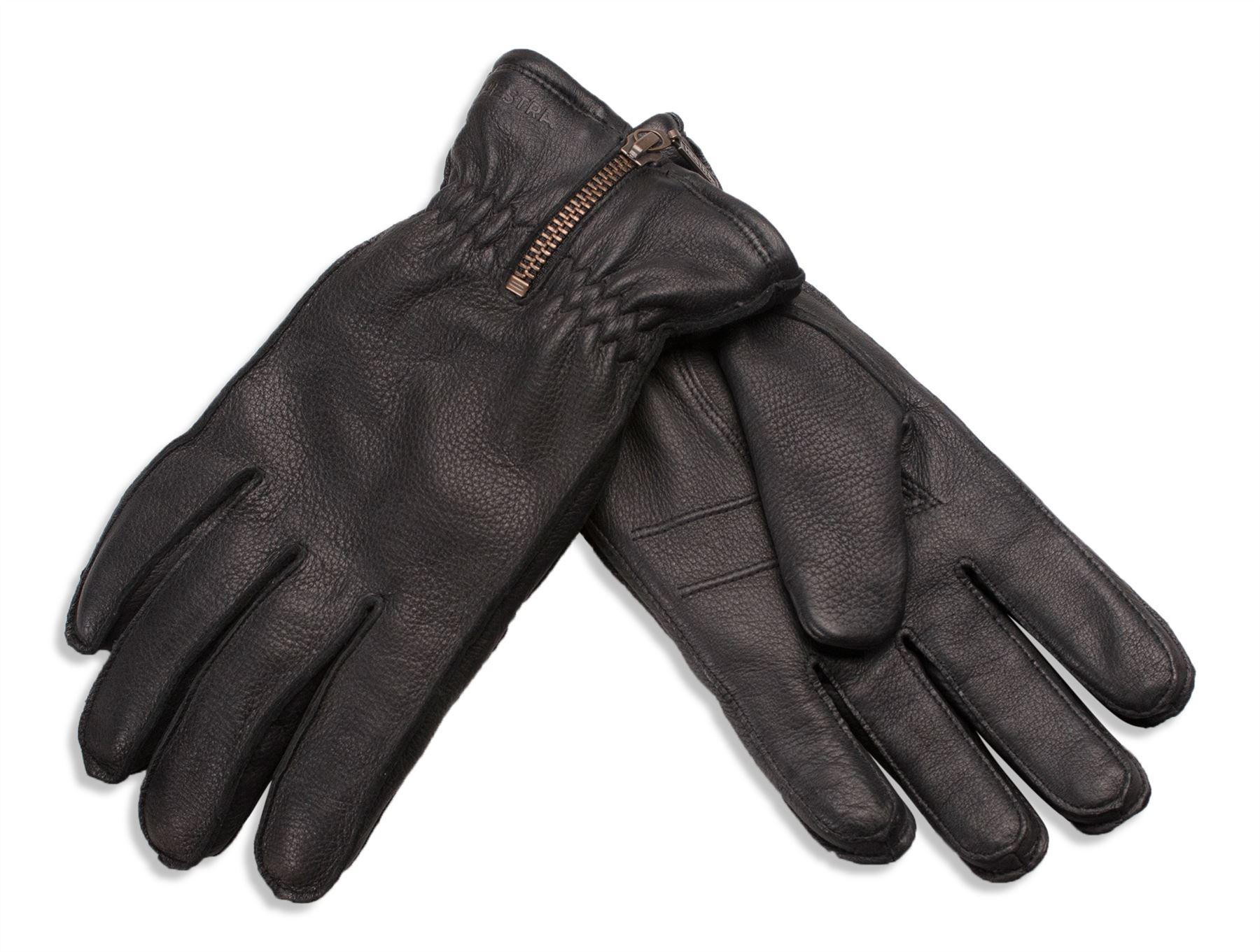 Hestra Mens Amp Womens Deer Skin Leather Gloves Merino
