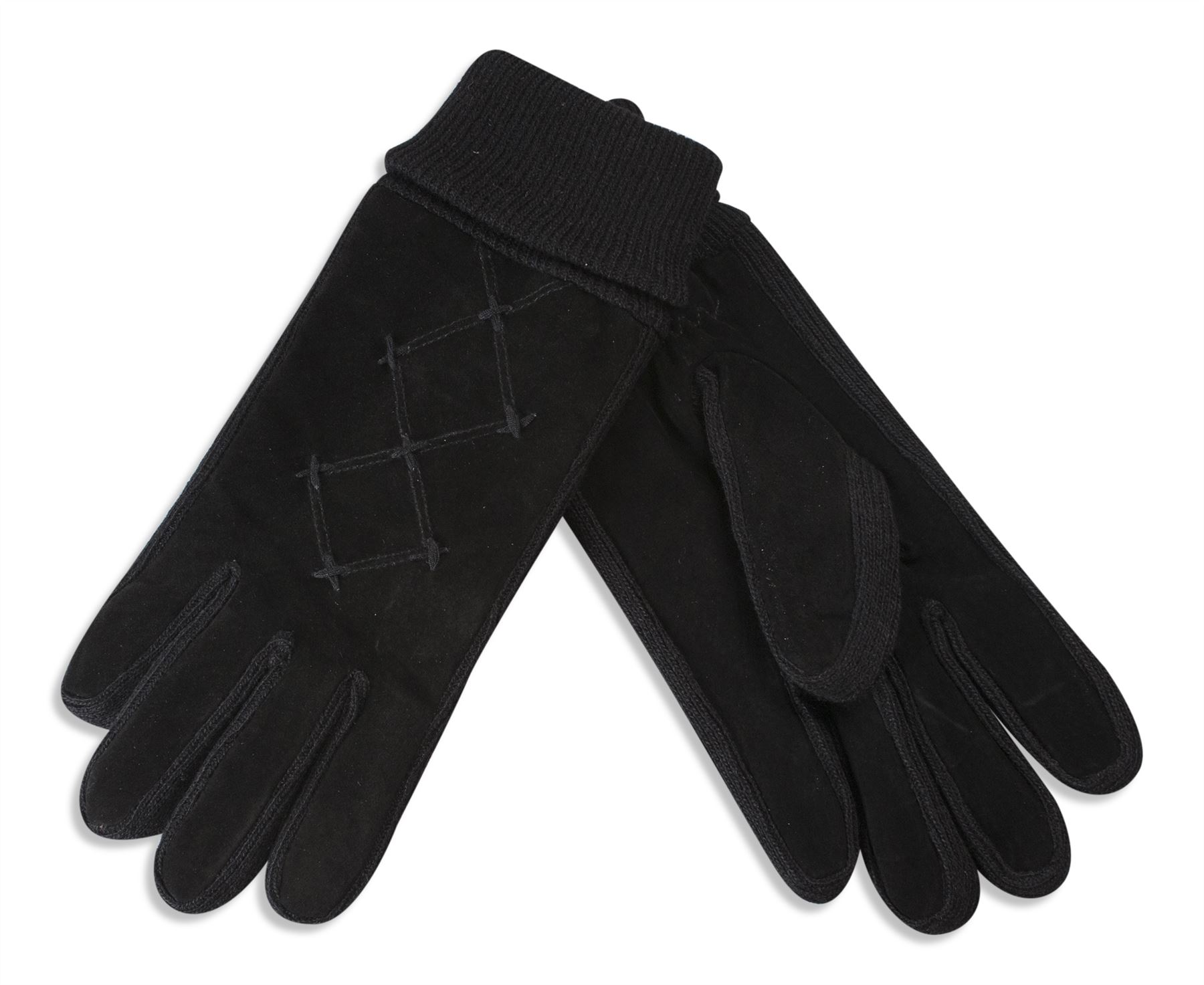 Womens leather gloves thinsulate lining - Brilliant Suede Leather Gloves With An Extra Warm Thinsulate Lining