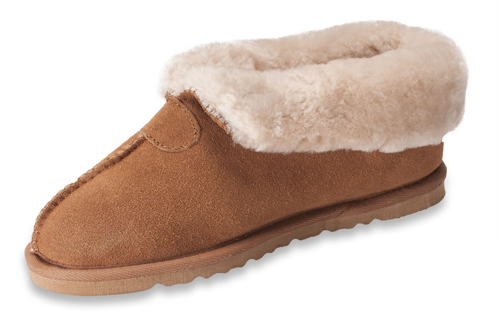 0407eb1401cda Details about Nordvek Ladies Genuine Sheepskin Slippers Boots Hard Rubber  Sole Womens 413-100
