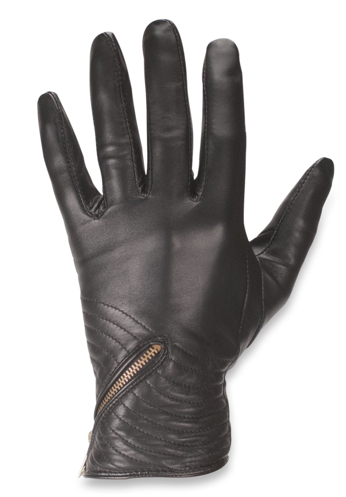 Ladies real leather gloves - Quivano Womens Soft Real Leather Gloves Fleece Lined